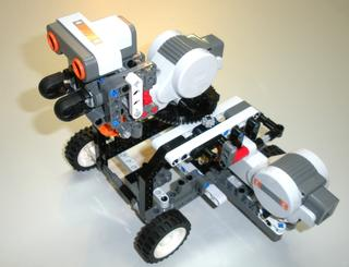 Gun Tote'n Lego Mindstorm